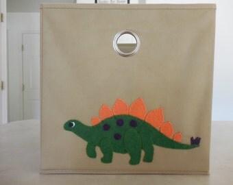 Stegosaurus Custom Storage Bin