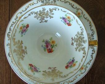 Bavaria Schumann Vintage Tea Cup and Saucer