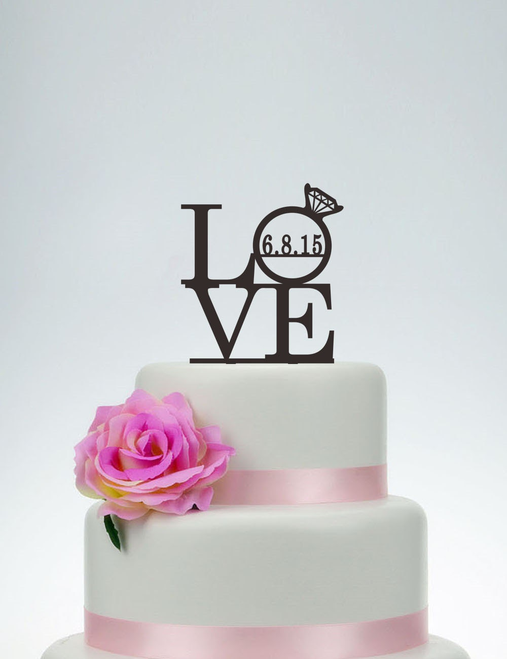 I Love Cake Design Puntate : Love Cake TopperWedding Cake TopperLove Topper With