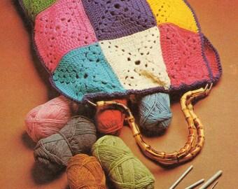 Vintage Crochet Bag Pattern PDF