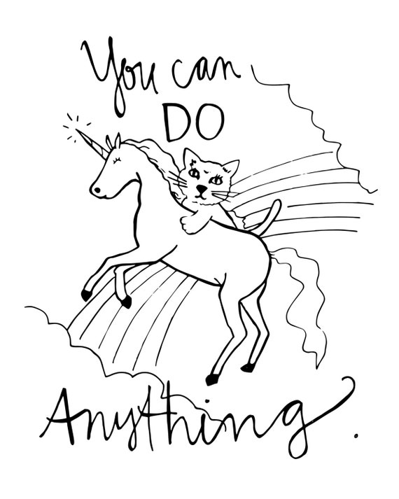 Coloring Page You can do anything original by