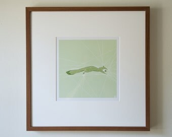 SQUIRREL (geometric photographic print)