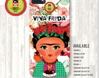 Case Frida Kahlo Phone case cover for iPhone 4 iPhone 4S iPhone 5 iPhone 6 iPhone5S iPhone 5C