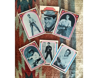 Vintage Collectable Elvis Presley Cards