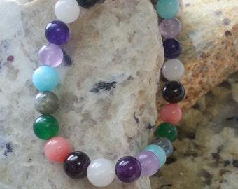 Healing Crystal Bracelet-Confidence