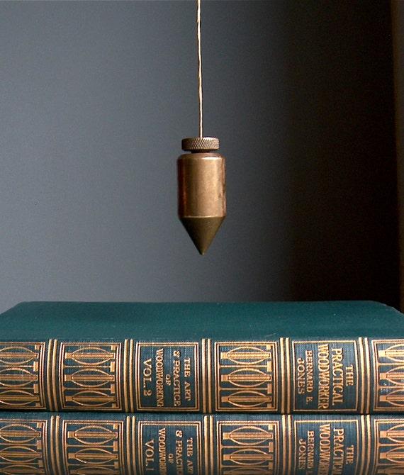 fil plomb en laiton niveau des cordes verticales vintage. Black Bedroom Furniture Sets. Home Design Ideas