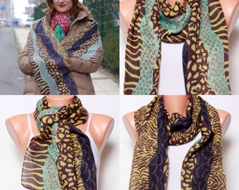 Summer scarves Gift Ideas for women Womens fashion scarves mustard Scarf Cotton Scarf Womens scarves womens accessories
