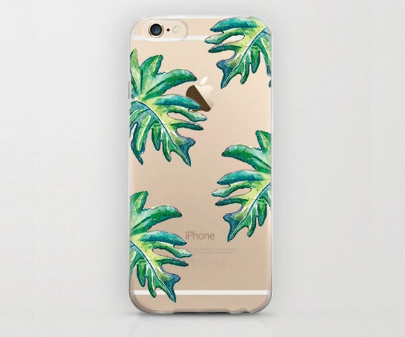 Case Banana Leaf Phone Case Hard Shell Plant iPhone 6s Cell Phone ...