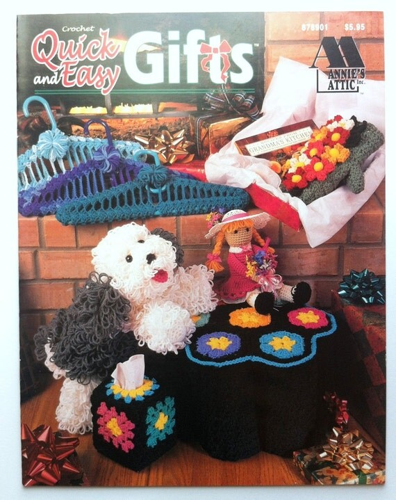 Crochet Quick and Easy Gifts pattern book by Annies by ...