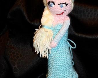 Princess Inspired Crochet doll