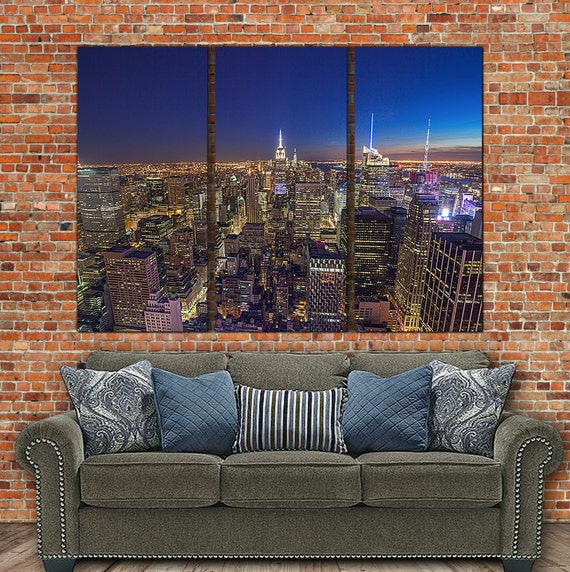 New York City Canvas Wall Art new york skyline canvas art large wall art canvas new york