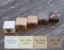 reclaimed wood ring box wood ring box wedding wedding ring box wedding ring holder Proposal ring box wedding ring holder ring bearer box