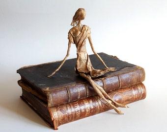 Paper Mache Art, Wire Sculpture, Doll Sculptures, Wire Decor, Doll Decoration, Paper Sculptures, Dolls Decor, Guardian Angel, Wire Art
