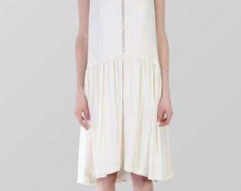 SALES -60% Silk crepe dress