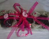 Elegant Gift Set with Luxury Scented Soaps in Lavender Colour: Ideal for Anniversary, Feast, Birthday, Party