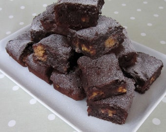 Gluten Free Chocolate and Peanut Butter Brownies