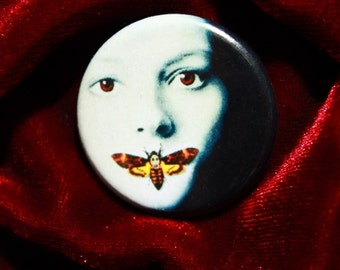 Silence of the Lambs Pinback Button 1 1/4 Inch