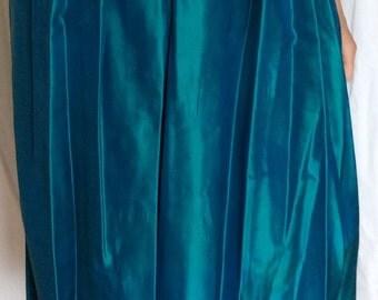 Liberty silk evening skirt