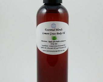 Lemongrass Body Oil