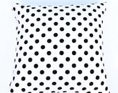 Price reduction on all sizes! pocket dots pillow cover