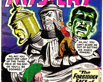 The House of Mystery 91. Aliens, Satellite, Occult, Horror comic book, Nightmare Tales of Creepy Creatures. 1959 DC Comics in FN (6.0)