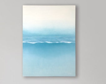 Sea abstract painting 24'' x 31,5''