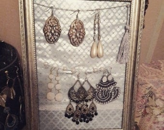 Earring holder frame - A4 size