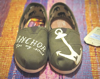Anchor /// Custom Toms /// *End of Summer Sale*