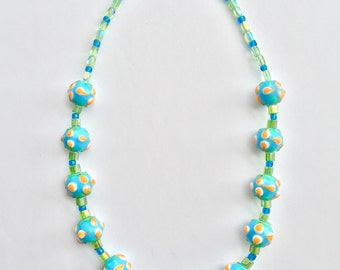 Quirky Necklace - Picnic in the Park