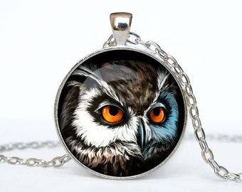 Owl necklace Owl pendant Owl jewelry