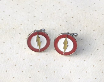 Flash Cufflinks Cuff Links in Silver