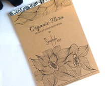 Colouring Book for Adults - ORGANIC FLORA - Advanced Coloring pages full of Nature Inspired Illustrations, Mandalas and Zentangle Designs