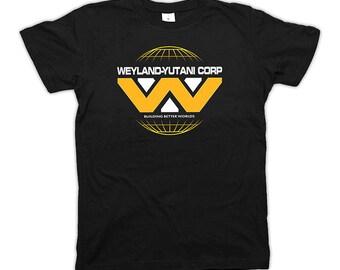 Weyland-Yutani Corp T-Shirt alien film Prometheus, Nostromo