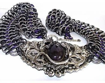 Gothic Dragon Scale Collar
