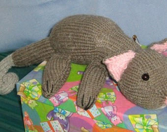Knitted Australian Ring-Tailed Possum