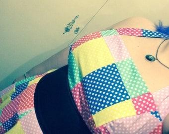 Polka Dot Pin Up, Rockabilly, Halter Dress.
