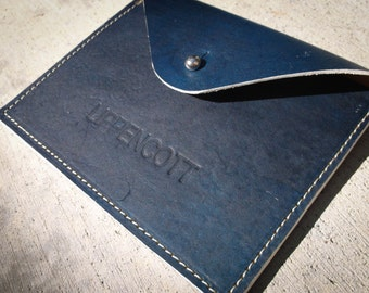 Leather Surf wax case