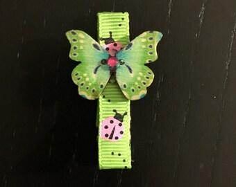 Butterflies Fluttering Hair Clip