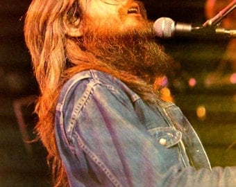 Vintage 1973~LEON RUSSELL~In Concert Poster