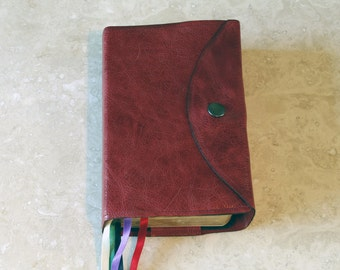 Envelope Style Real Leather Missal Cover