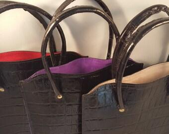 DORNEY Premium leather Tablet / Kindle Tote Bag