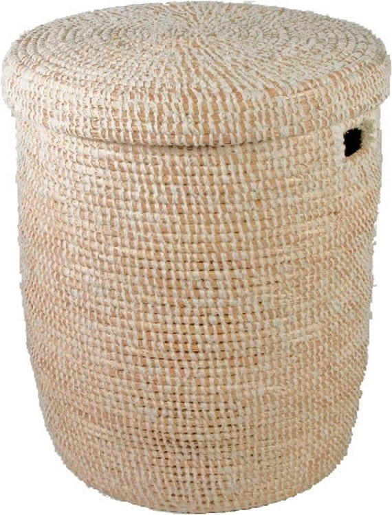 White Wrap Laundry Basket Large By Riadstore On Etsy