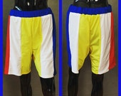 "MADE TO ORDER Katy Perry ""Beach Ball"" Superbowl Costume Inspired Shorts for Men"