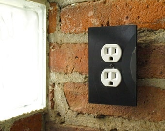 Recycled Record Switch-plates and Outlet covers