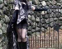 Minx - Gothic Steampunk Masquerade Ball Gown