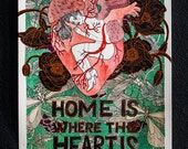 Home is where the Heart is  - Original painting