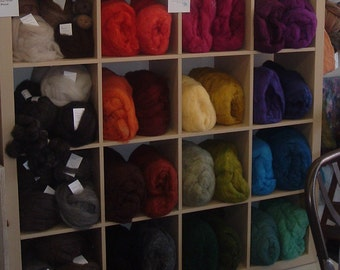 Custom Package of Harrisville Felting Wool Per Ounce