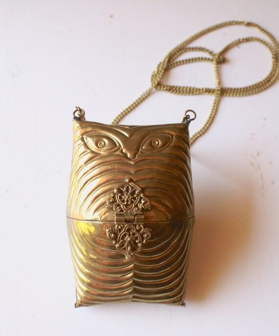 Vintage Brass Purse 67