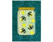 Fireflies Digital Print