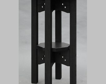 Mission, Arts and Crafts, Gothic,  Display Table, Plant Stand. ON SALE Reduced 25%